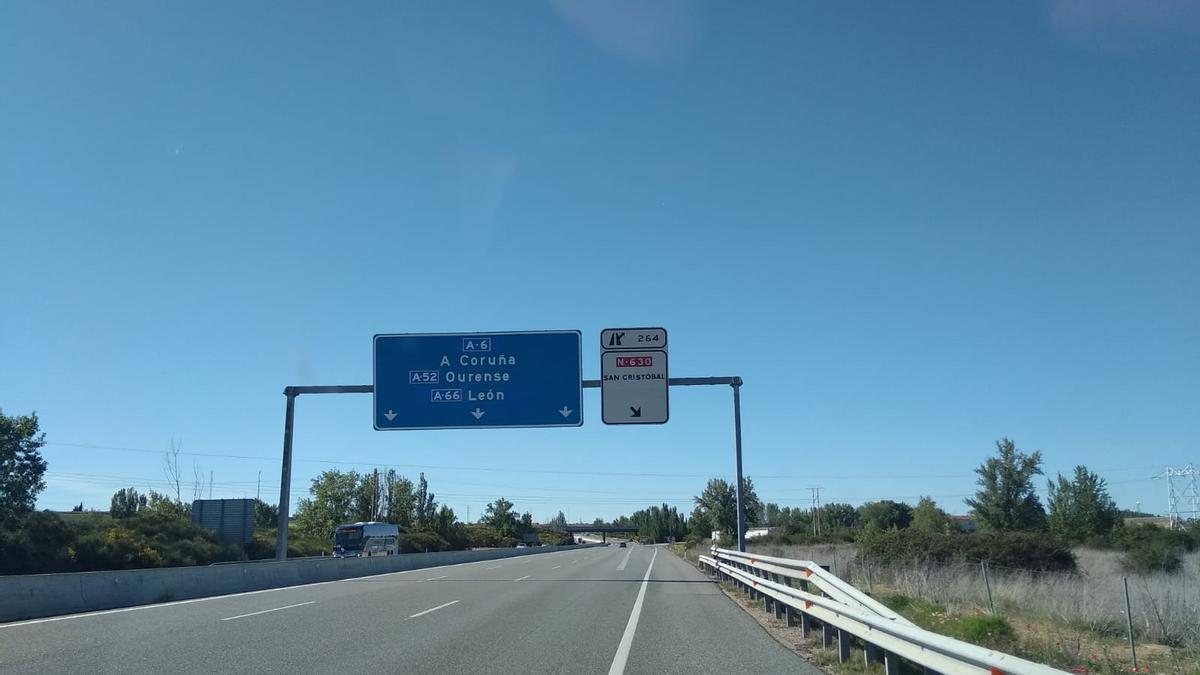 Autovías a su paso por Benavente y comarca. / E. P.