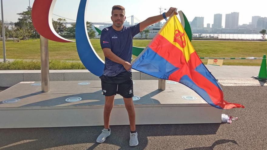 Adrián Castaño se queda a las puertas de la final paralímpica