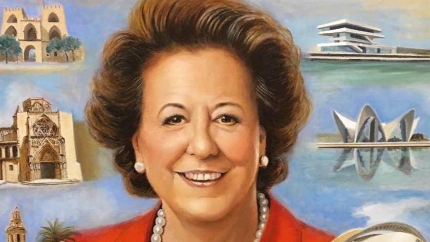 El cuadro oficial de la exalcaldesa Rita Barberá se retrasará un año