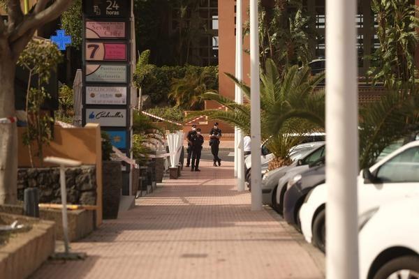 Zona del hotel del sur de Tenerife donde se detectó el caso de Coronavirus
