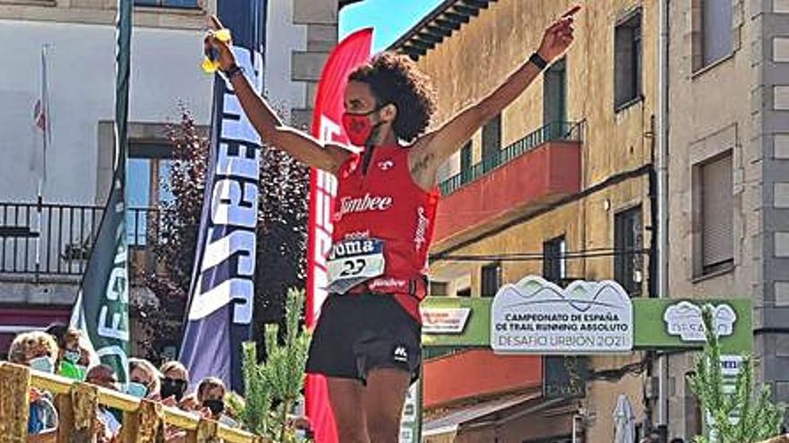 Zaid Ait Malek, subcampeón de España de trail running