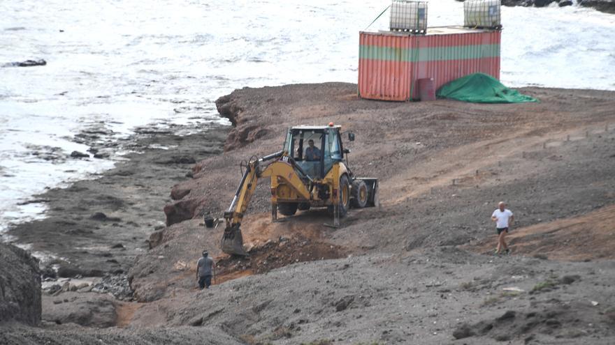 Arranca la obra para convertir el Muelle Viejo de Arinaga en zona de baño