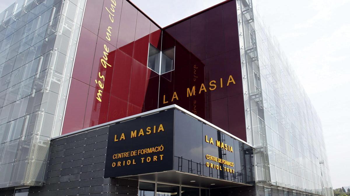 La Masia del FC Barcelona.
