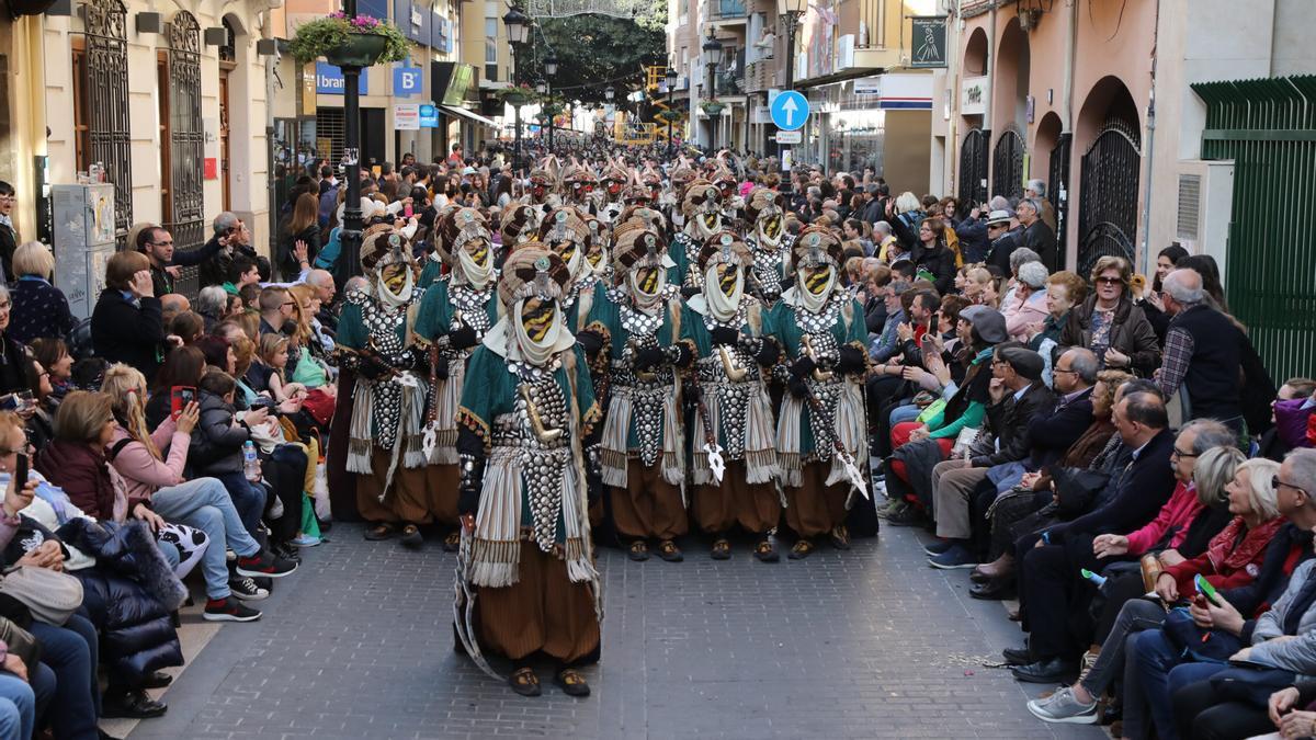 Imagen del Pregó del 2019, el último que se ha celebrado en Castelló