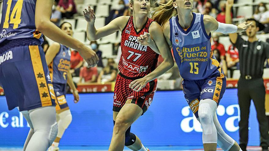 Valencia Basket exhibe músculo en Fontajau