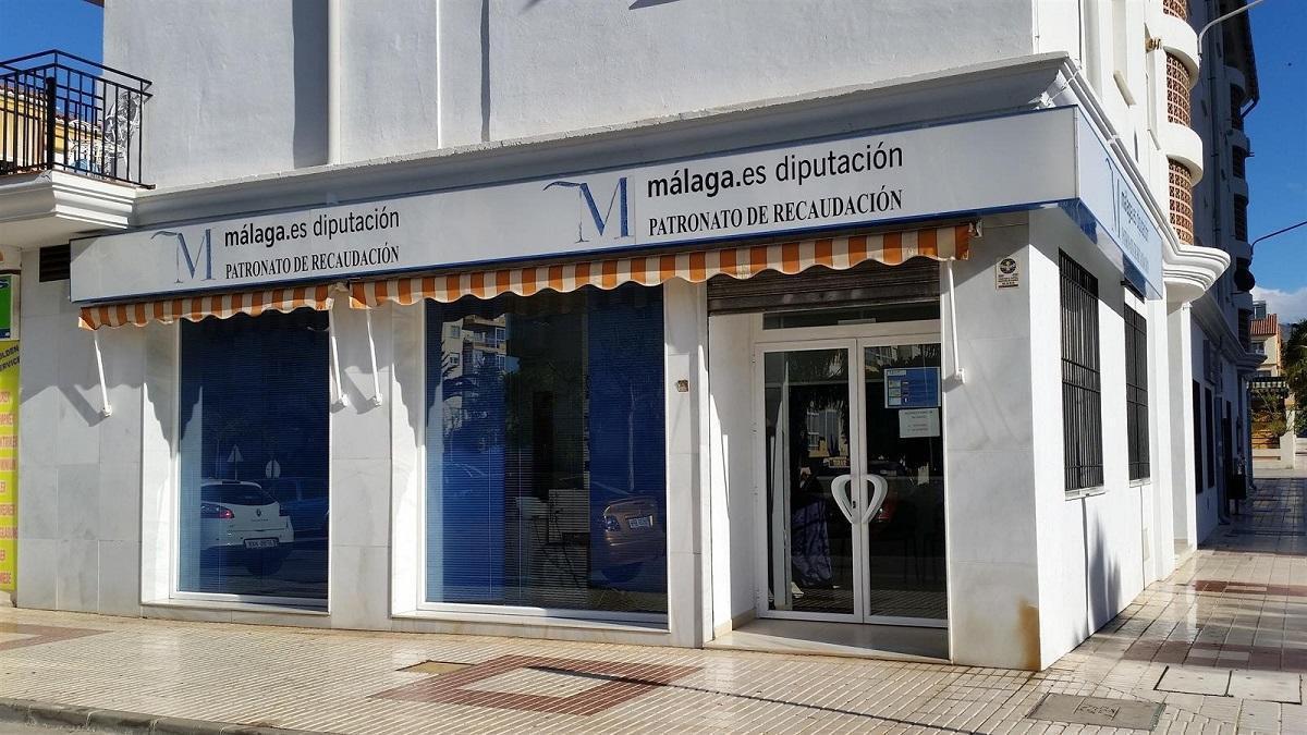 Oficina del Patronato de Recaudación de la provincia de Málaga.