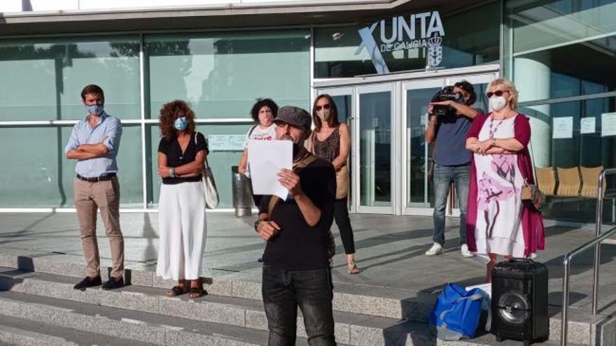 Sindicatos y Anpas exigen en Vigo medidas que garanticen la seguridad en las aulas
