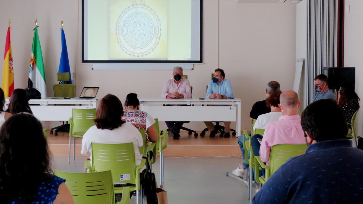 Antonio Garrote y Carlos Javier Rodrígez en la presentación oficial
