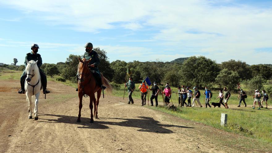 La Guardia Civil retoma la actividad 'El Camino Mozárabe. Un camino seguro'