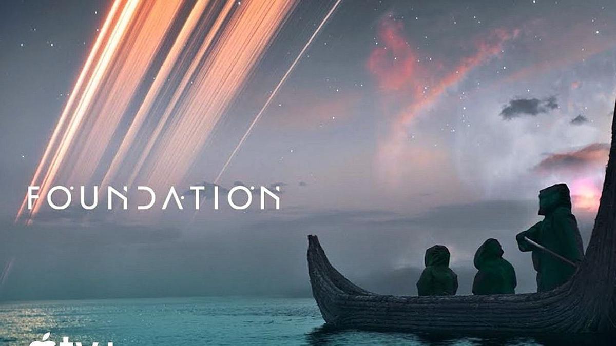 Imagen promocional de la serie de ciencia ficción que se rueda en Tenerife.