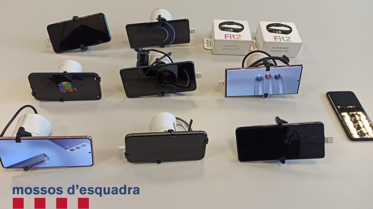 Telèfons mòbils robats a Tàrrega
