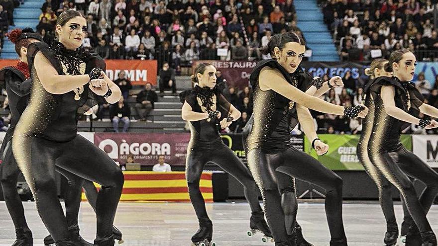 El patinatge de grups de xou ja no es reprendrà fins la temporada que ve