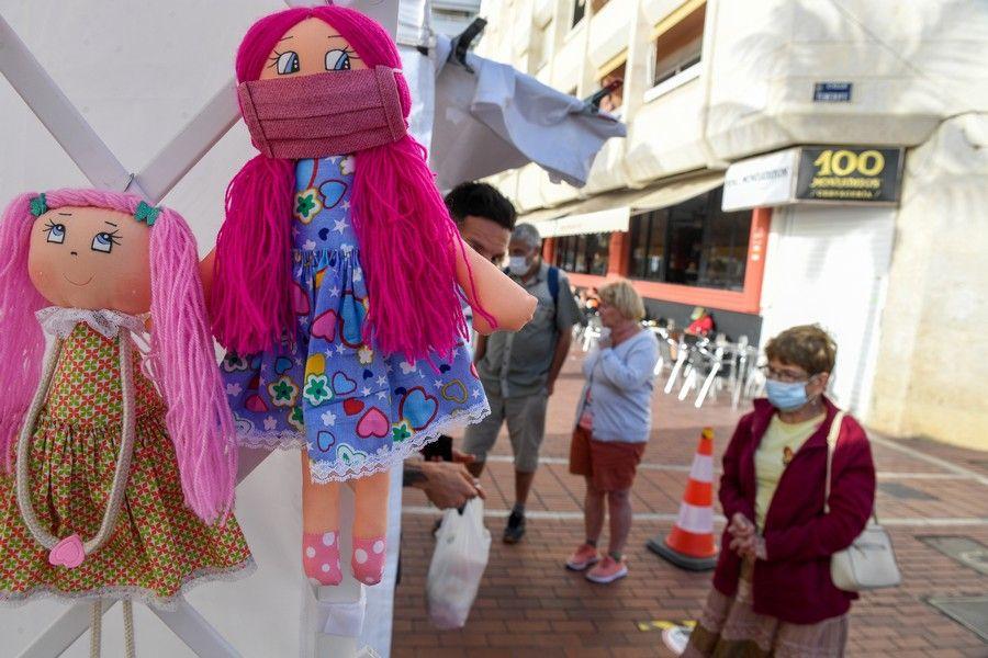 Feria comercial 'Un invierno al Solajero' en la Plaza Saulo Torón