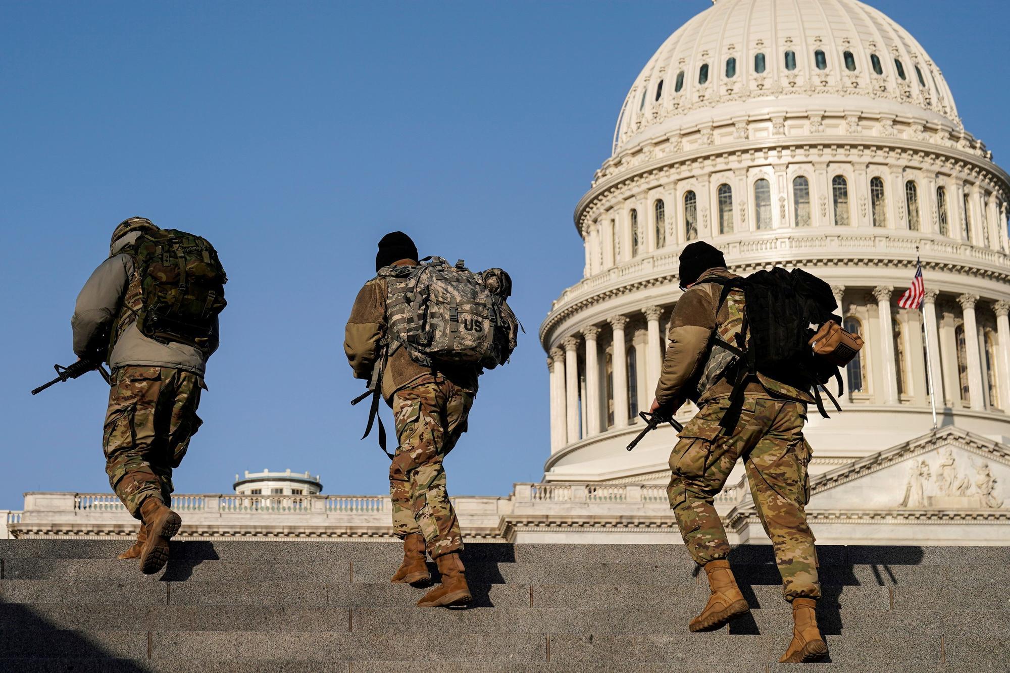 Vigilancia en el Capitolio