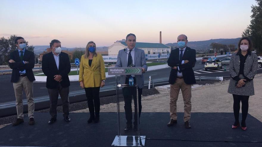 La Junta inaugura los accesos a Antequera desde la A-7282