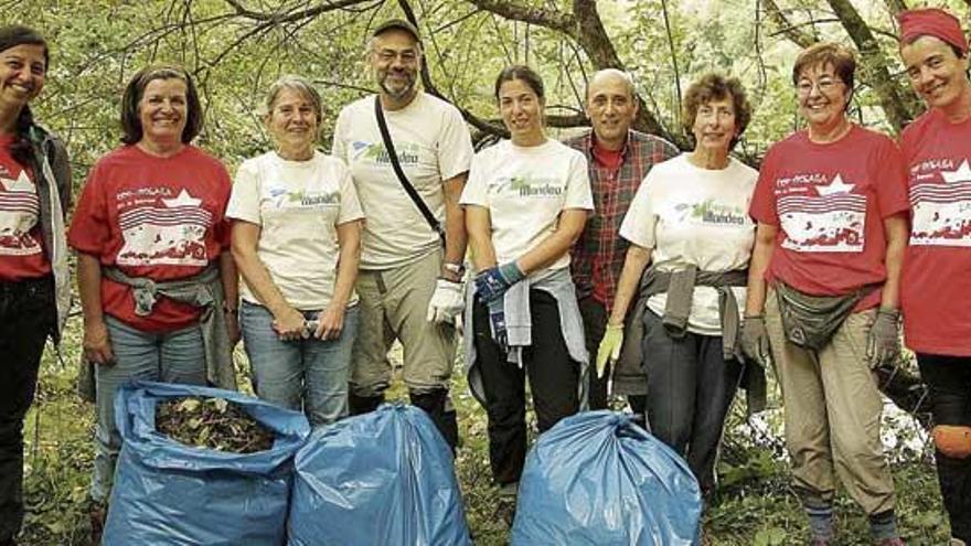 Fragas do Mandeo cuida 26 hectáreas de alto valor ambiental tras diez años de trayectoria