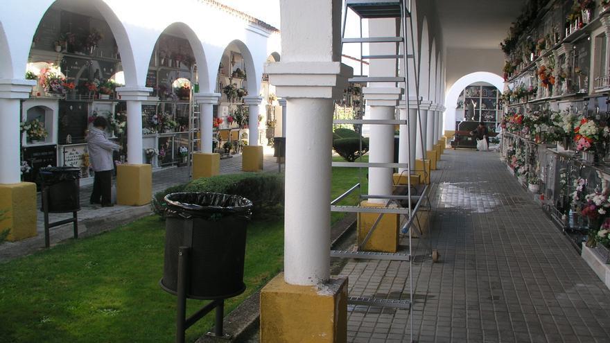 El cementerio municipal de Coria sumará entre 60 y 90 nichos prefabricados este año
