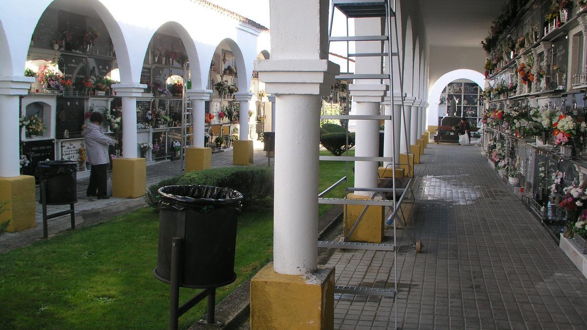 Cementerio de Coria