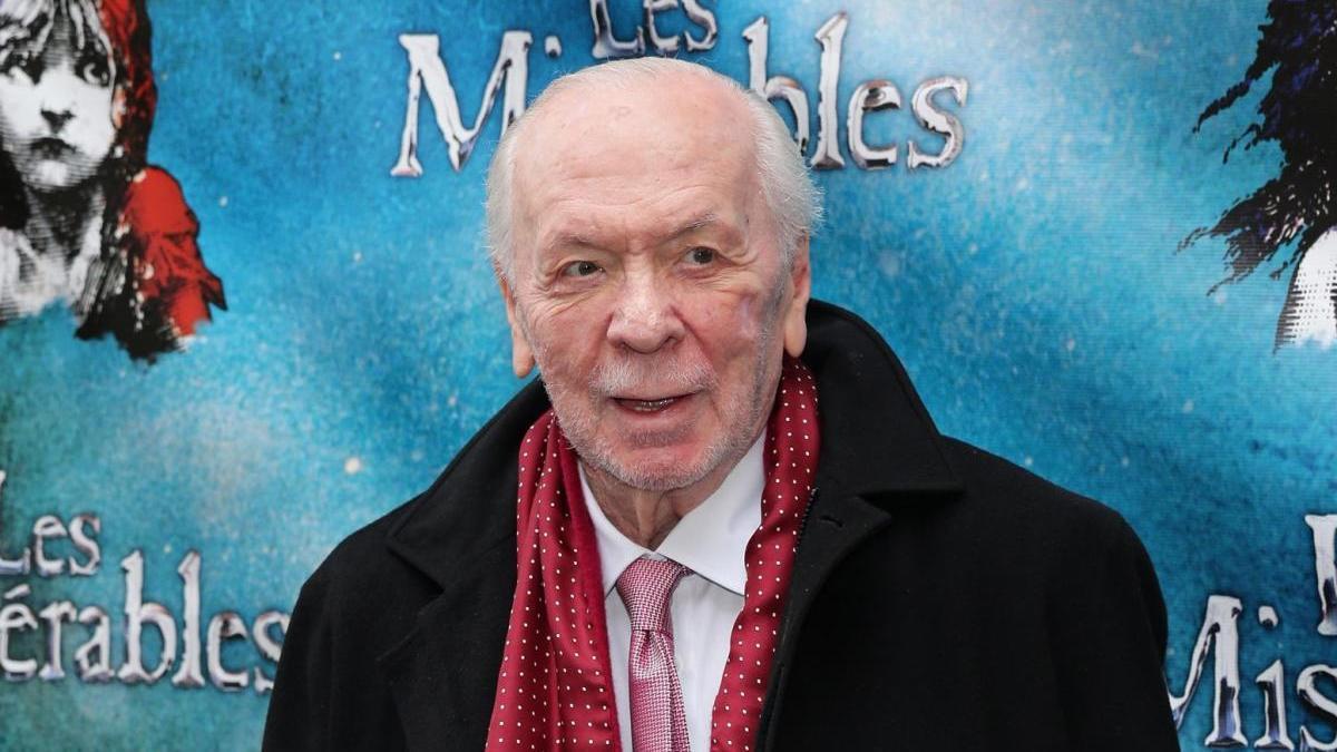 Herbert Kretzmer en la presentación de 'Los Miserables'