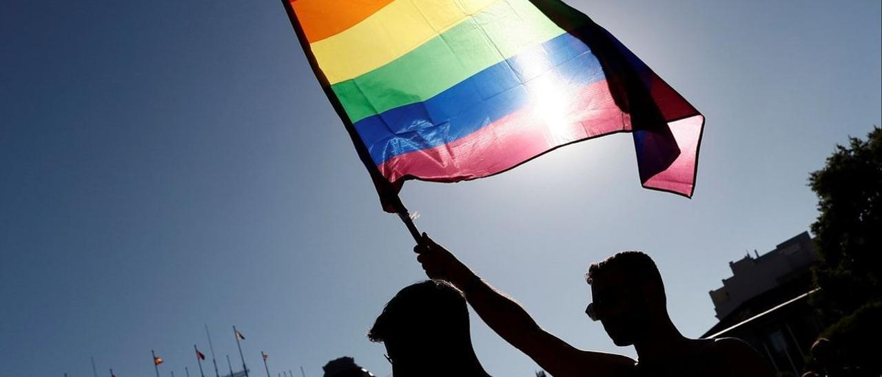 Imagen de archivo de la manifestación LGTBI en Madrid.
