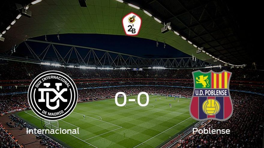 El Internacional y el Poblense concluyen su enfrentamiento en el Municipal de Villaviciosa sin goles (0-0)