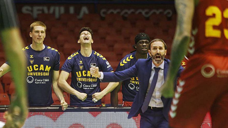 El UCAM enlaza tres victorias seguidas en la Liga Endesa después de tres años