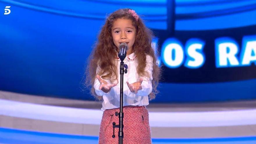 La niña valenciana Sandra Valero conquista al jurado de 'Idol Kids'