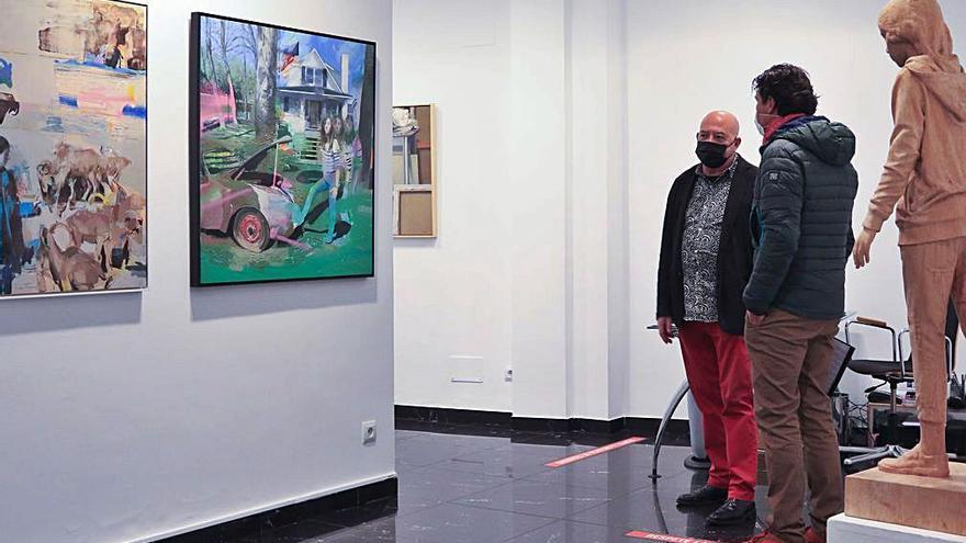 Artistas contemporáneos en la galería de arte Espacio 36