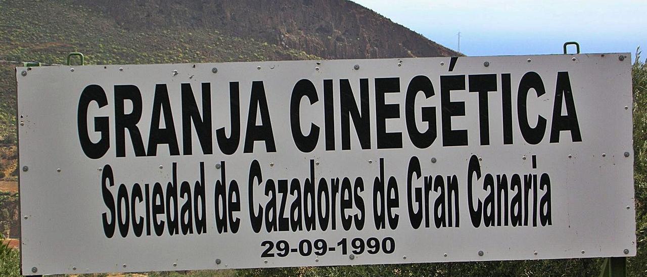Granja cinegética de la Sociedad de Cazadores de Gran Canaria.