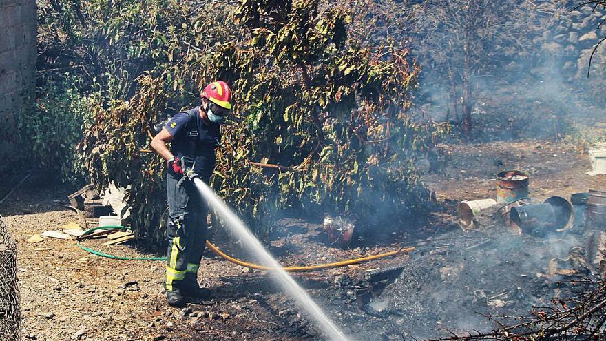 CCOO reclama más medios y recursos humanos contra el fuego