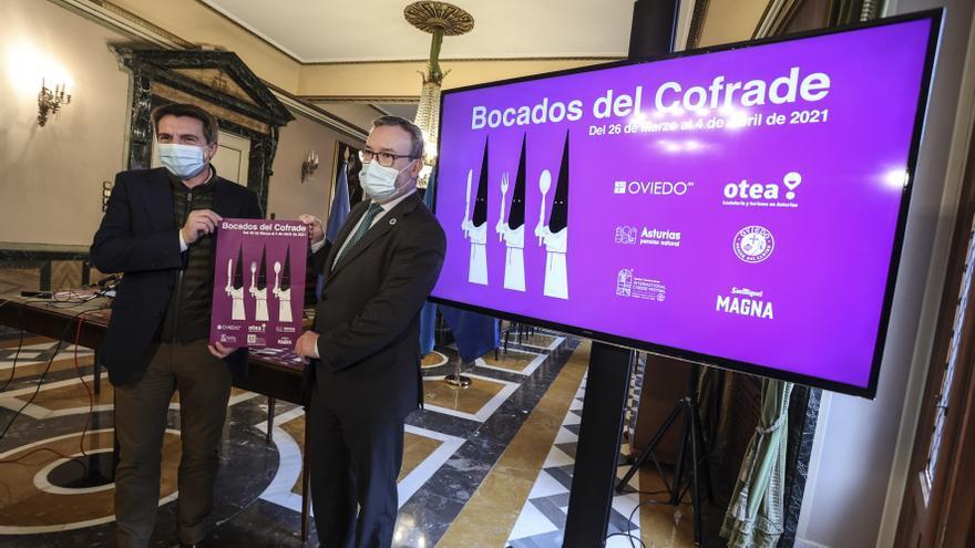 """""""La hostelería no es la que crea los contagios"""", el presidente de OTEA defiende al sector durante la presentación de Bocados del Cofrade"""