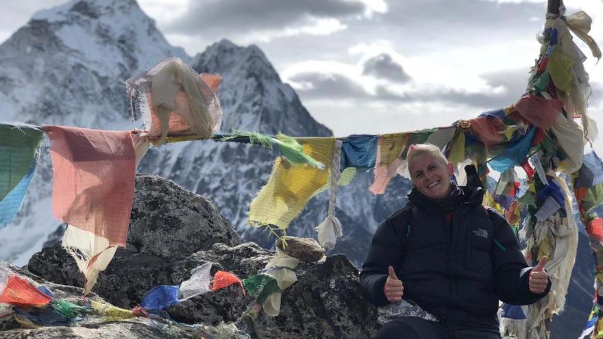 Evacúan a la montañera alicantina Eva Robles en el K2 en Pakistán