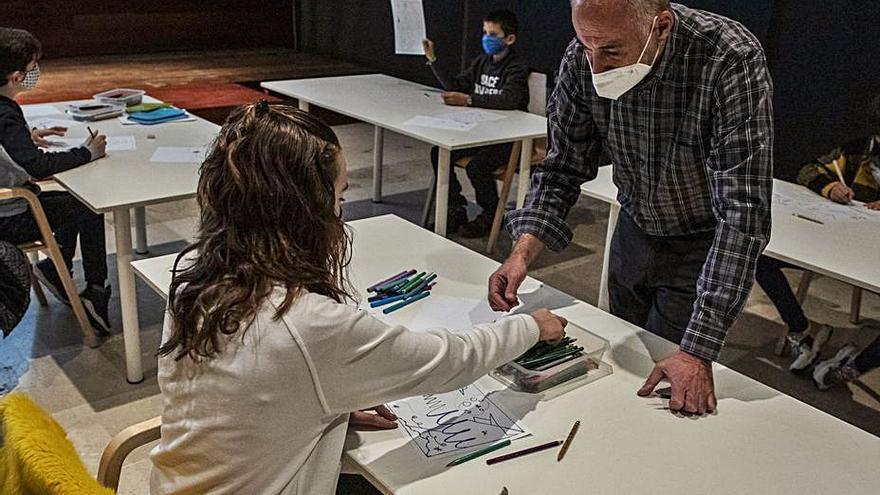 Puro arte en Zamora para los niños en el Etnográfico