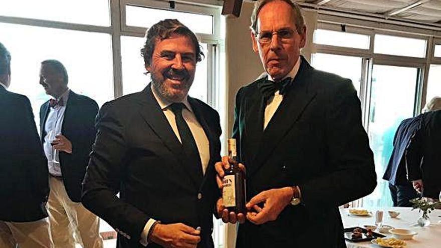 Whisky bergondés para Sir Moore