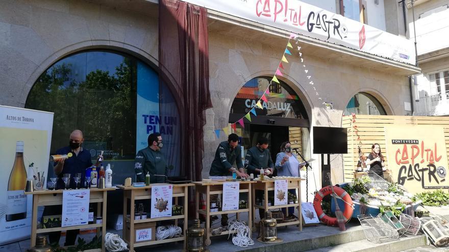 "Pontevedra celebra la ""Festa das cunchas"""