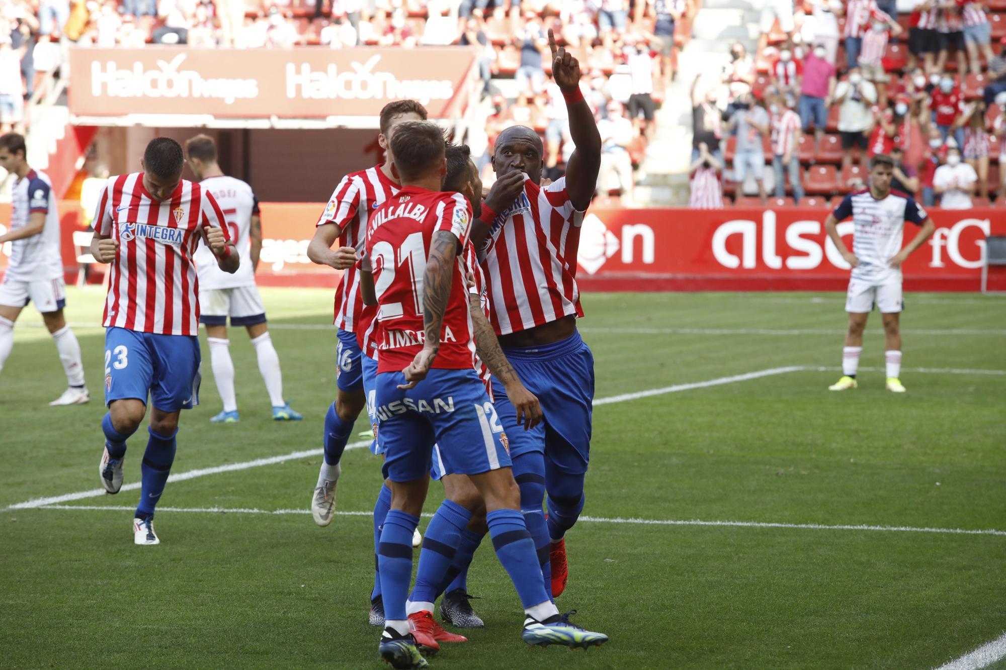 EN IMÁGENES: Las mejores fotografías del Sporting-Mirandés