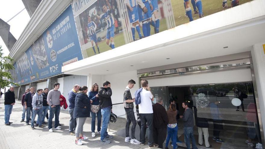 El Dépor pone a la venta las entradas para el derbi en Balaídos