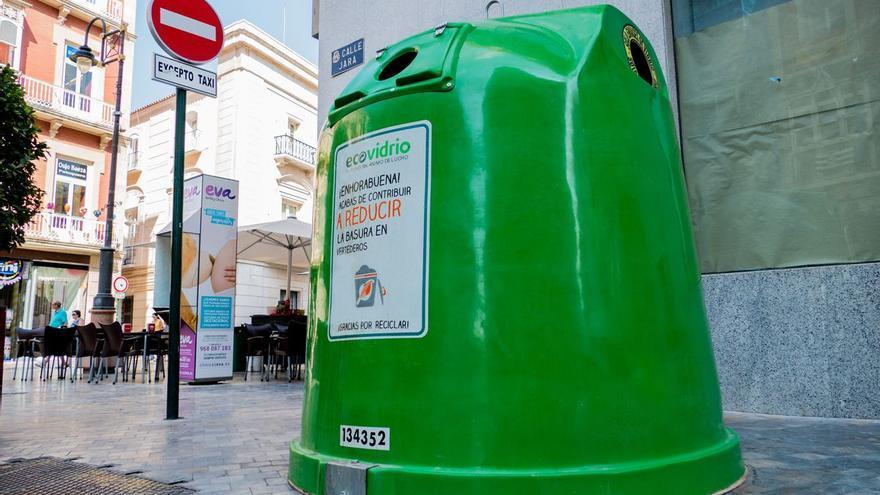 Cartagena recicla 3.264 toneladas de vidrio