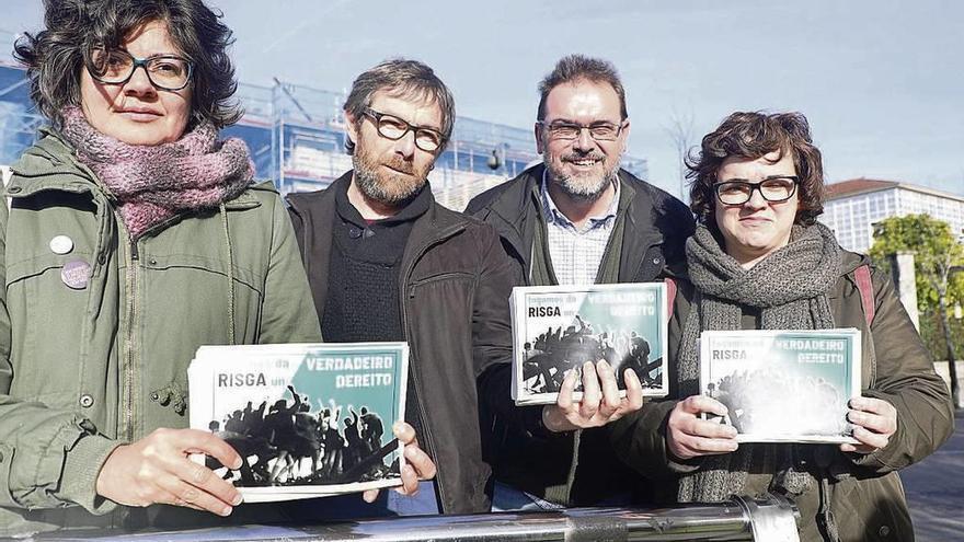 Una veintena de entidades exigen a la Xunta que eleve la cuantía de la Risga