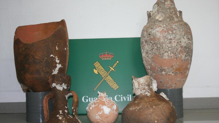 Recuperen àmfores romanes que es venien per Wallapop des de Vilafant i Vilajuïga