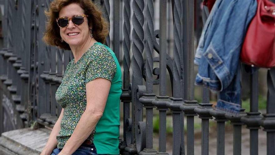 """Berna González Harbour: """"Mi comisaria María Ruiz se ha hecho algo antisistema"""""""