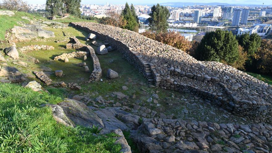 El castro de Elviña albergará un centro de interpretación