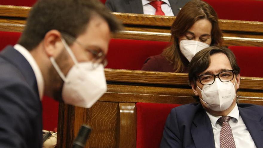 Illa descarta una abstenció del PSC per facilitar la investidura d'Aragonès i evitar eleccions: «No passarà»