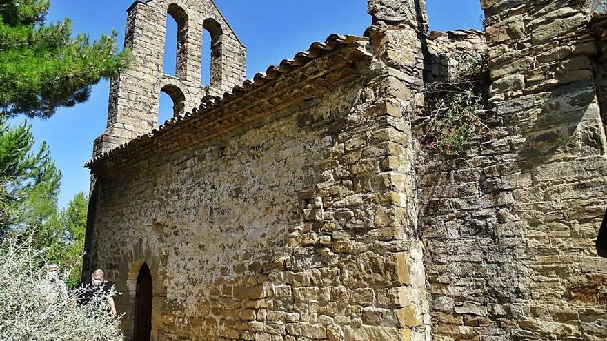 L'amo de l'ermita de Vallhonesta manté el pols amb el bisbat de Vic