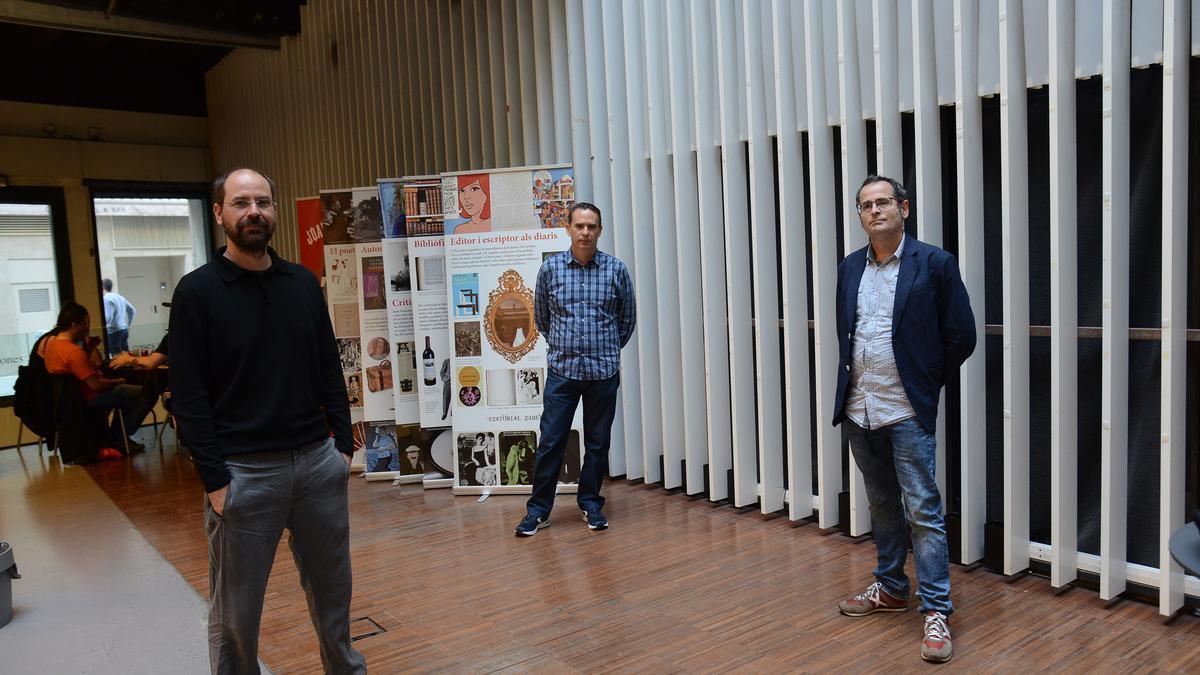 Los ganadores Àlex Matas, Ramon Ramon y Jordi Valls.