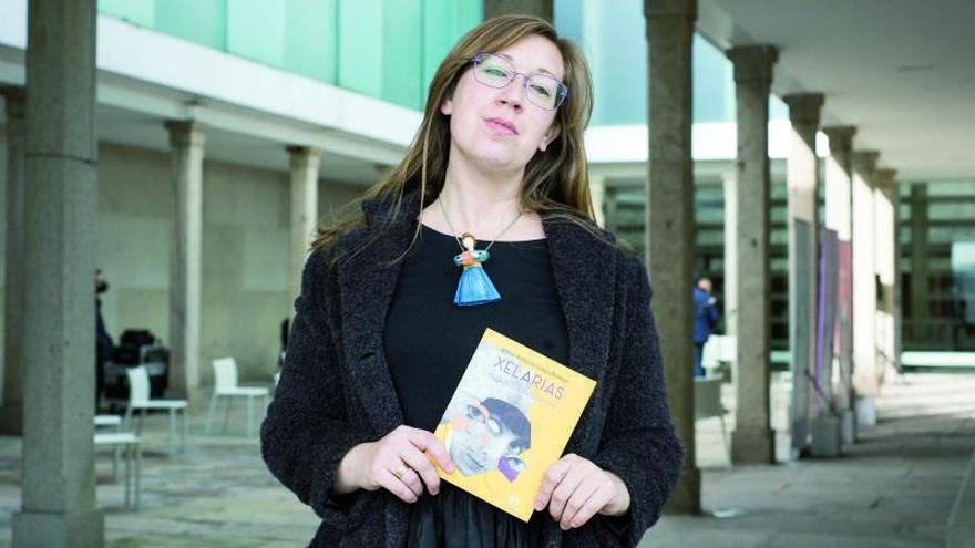 Xela Arias, unha conversa de tres