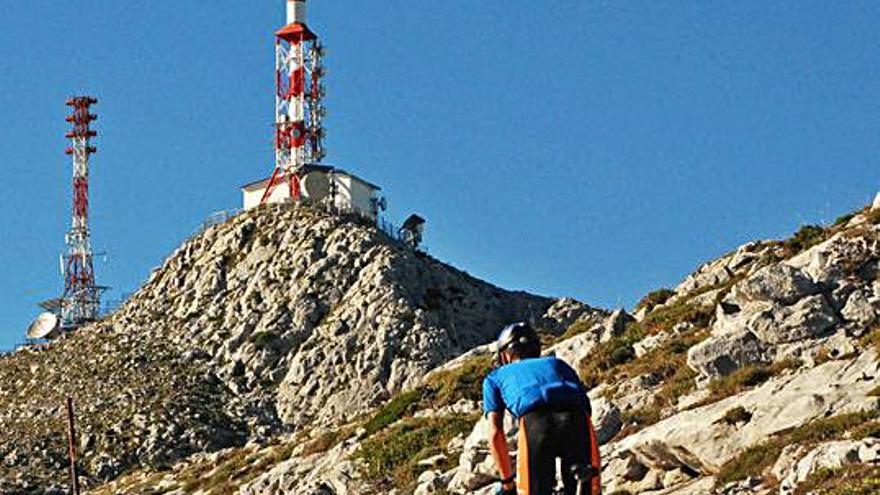 El Gamoniteiro, otro final inédito de la Vuelta en Asturias