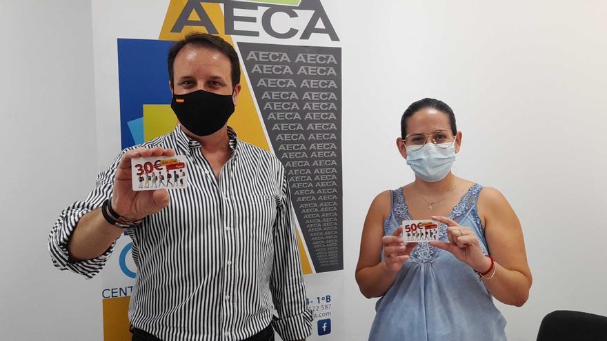 Una campaña promueve el consumo en el comercio local con motivo del comienzo del curso escolar en Cabra