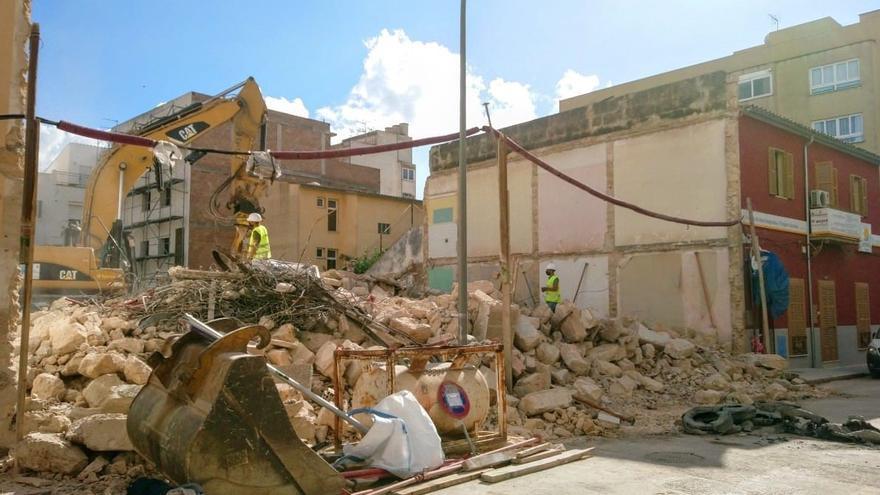 ARCA lamenta la completa destrucción de un edificio del Eixample de Palma