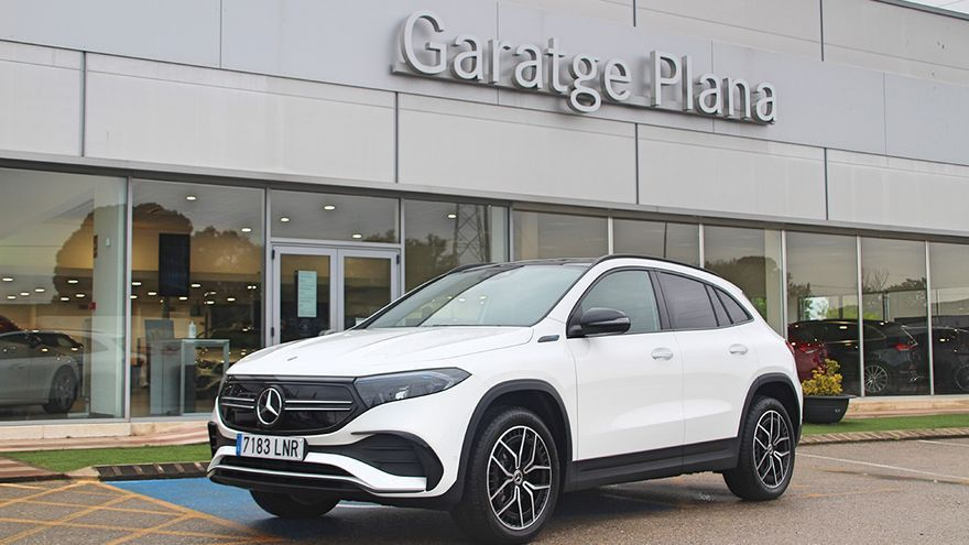 EQA: el nou SUV 100% elèctric de Mercedes-Benz